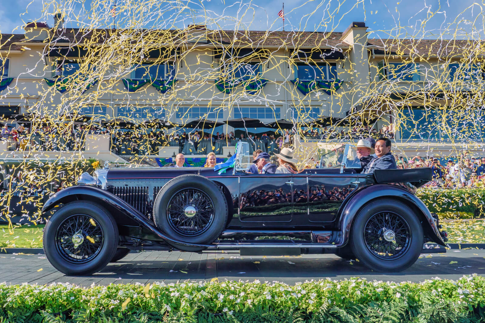 The Pebble Beach Concours d'Elegance 2019 Best of Show Winner