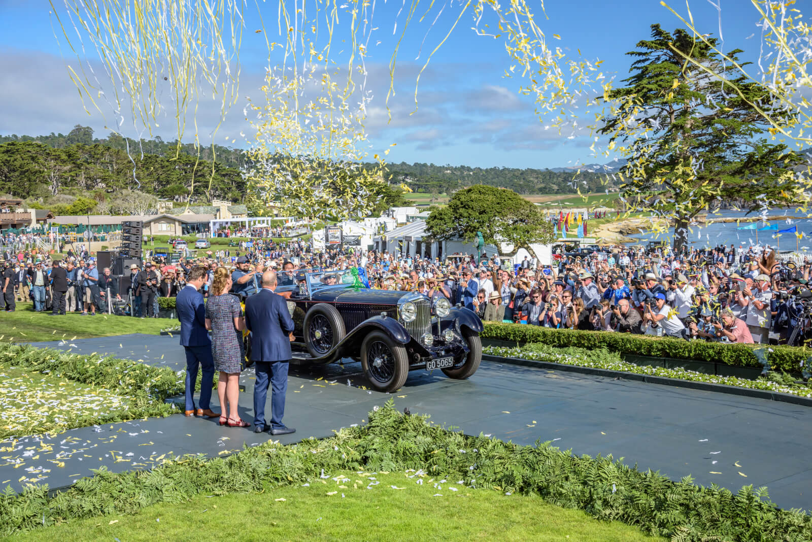 Pebble Beach Concours d'Elegance 2019 Best of Show moment