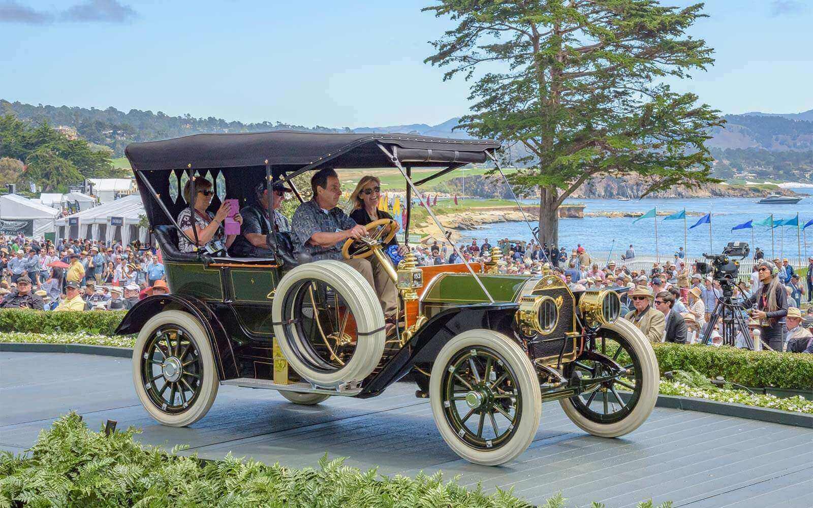 1910 Marmon 32 Five Passenger Touring, Mike & Sharon Silvera