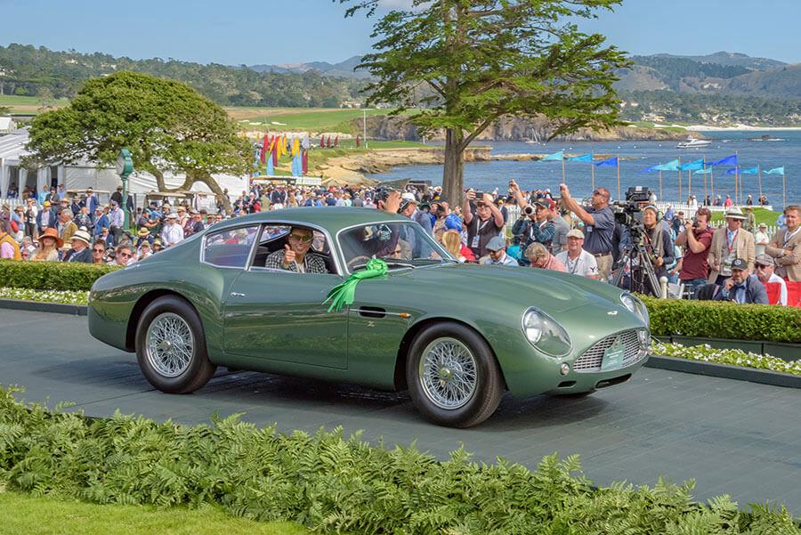 1962 Aston Martin DB4GT Zagato Coupé