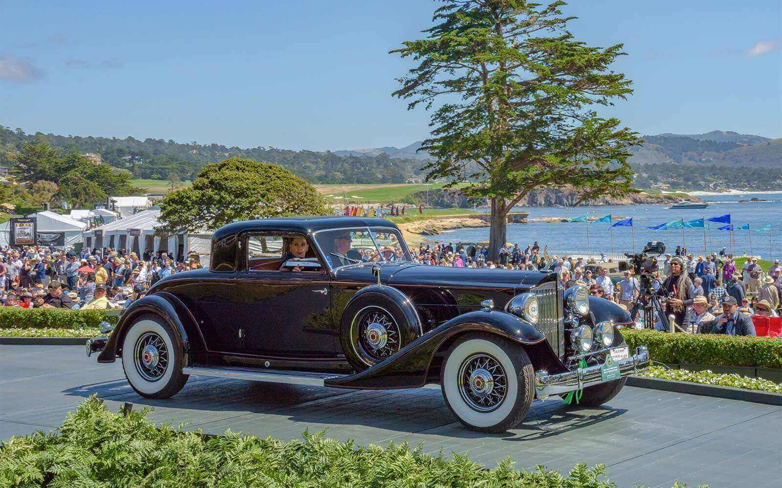 1933 Packard 1006 Twelve Dietrich Stationary Coupe