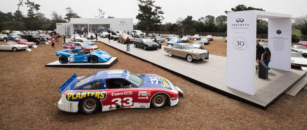 Japanese Automotive Invitational at the Pebble Beach Concours d'Elegance