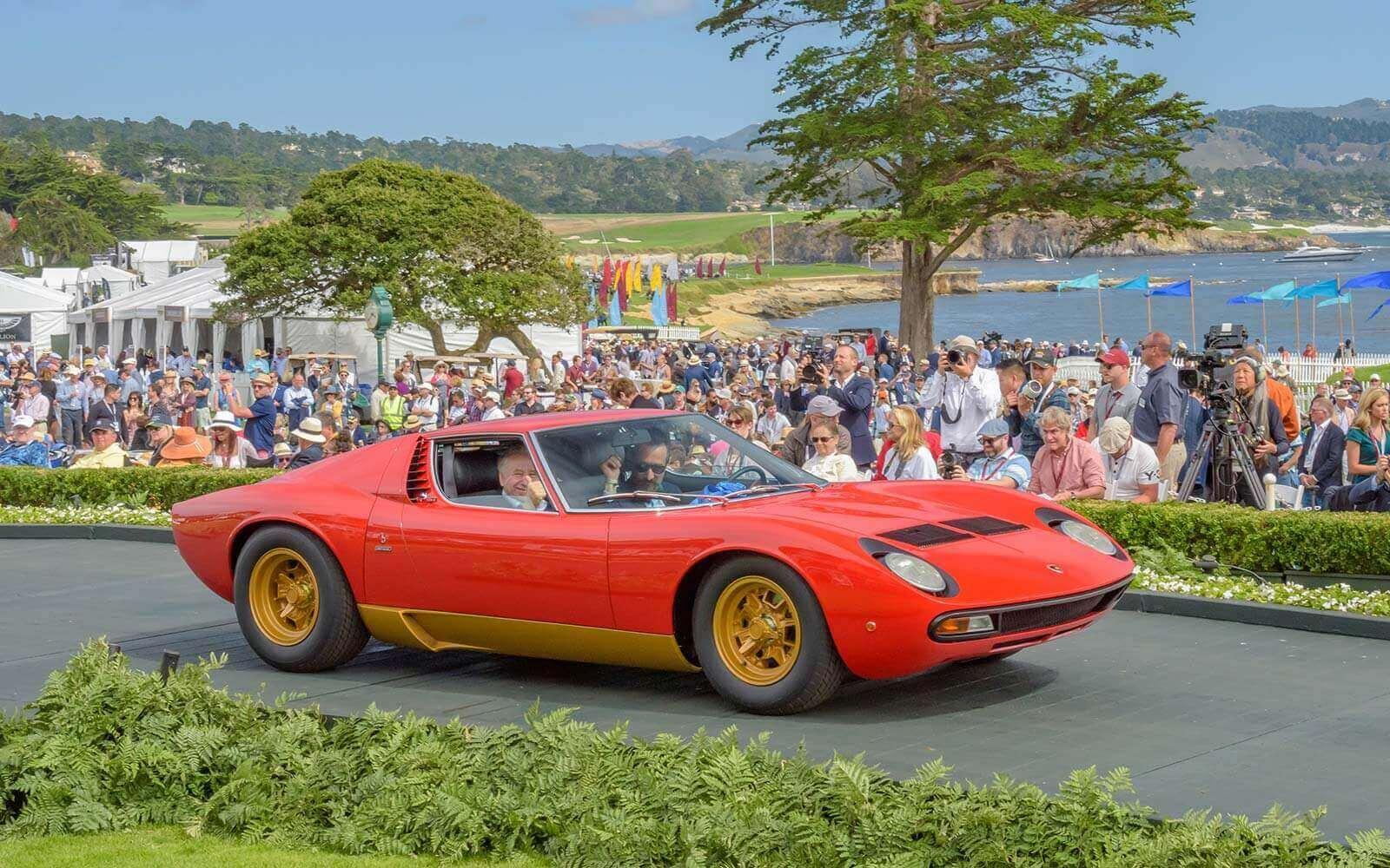 1968 Lamborghini Miura SV Coupé