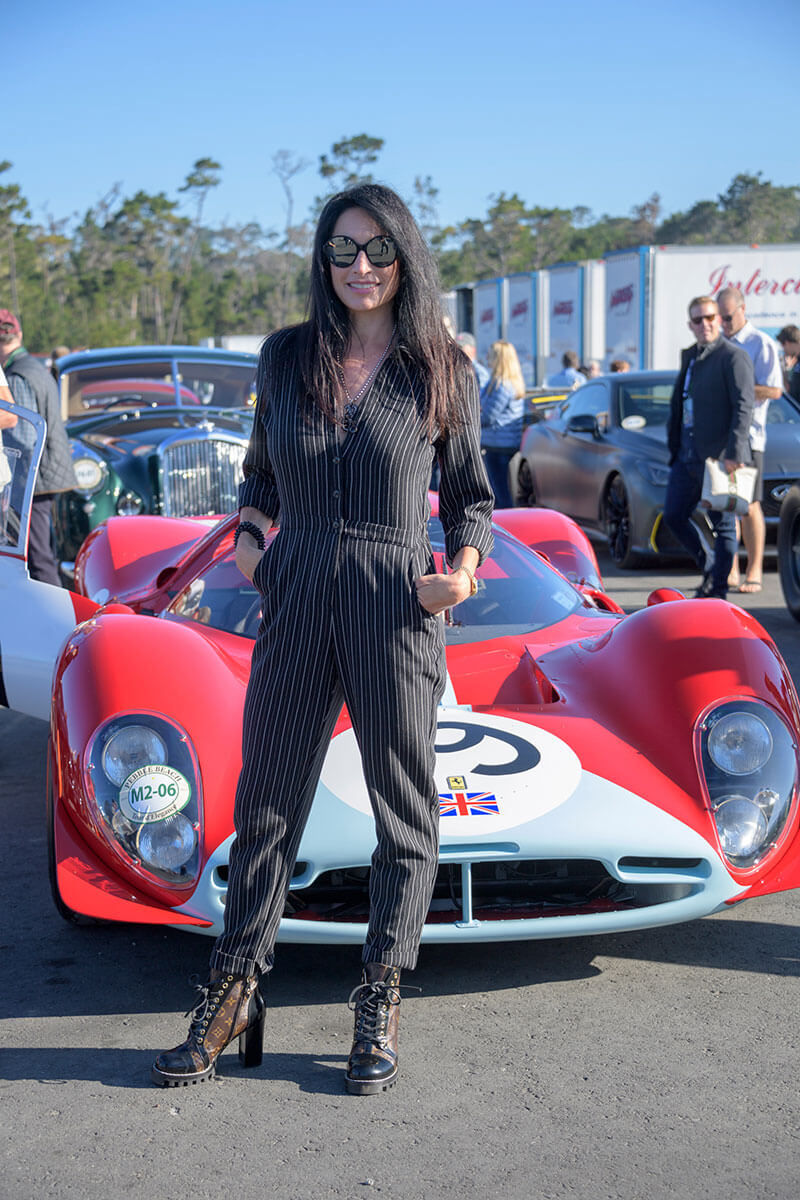 The start of the Pebble Beach Tour d'Elegance
