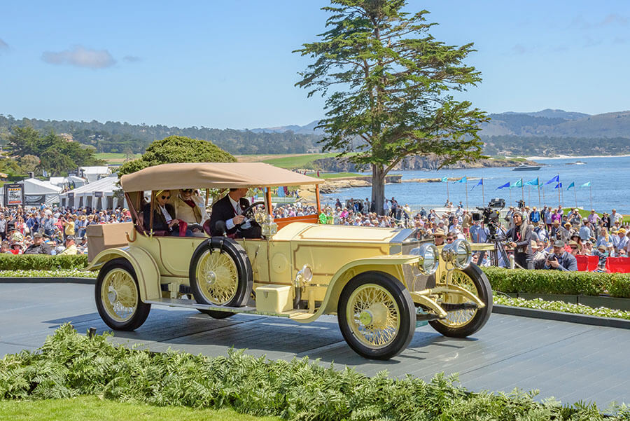 1913 Rolls-Royce Silver Ghost Reuters London to Edinburgh Tourer