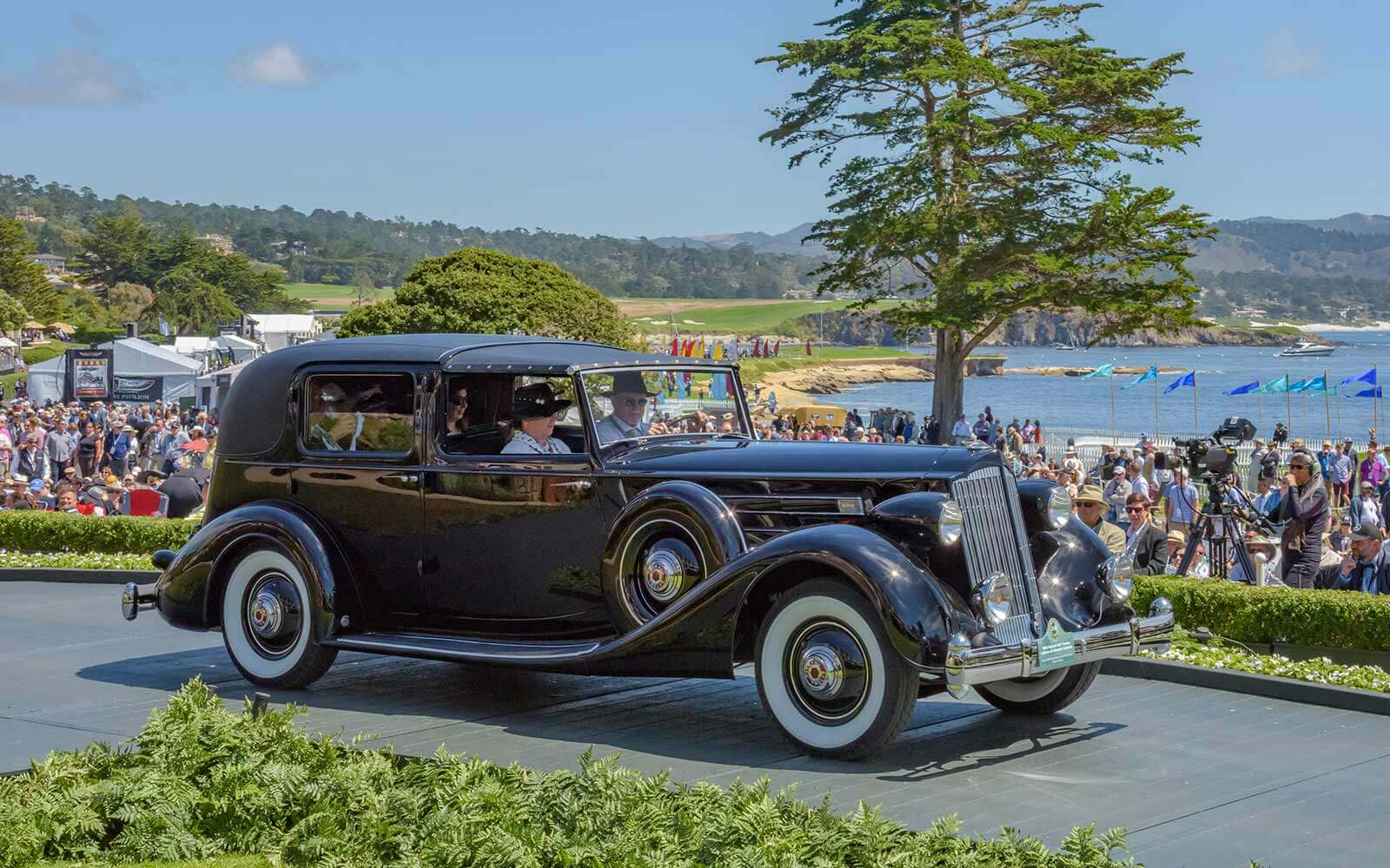 1936 Packard 1407 Twelve LeBaron All Weather Cabriolet