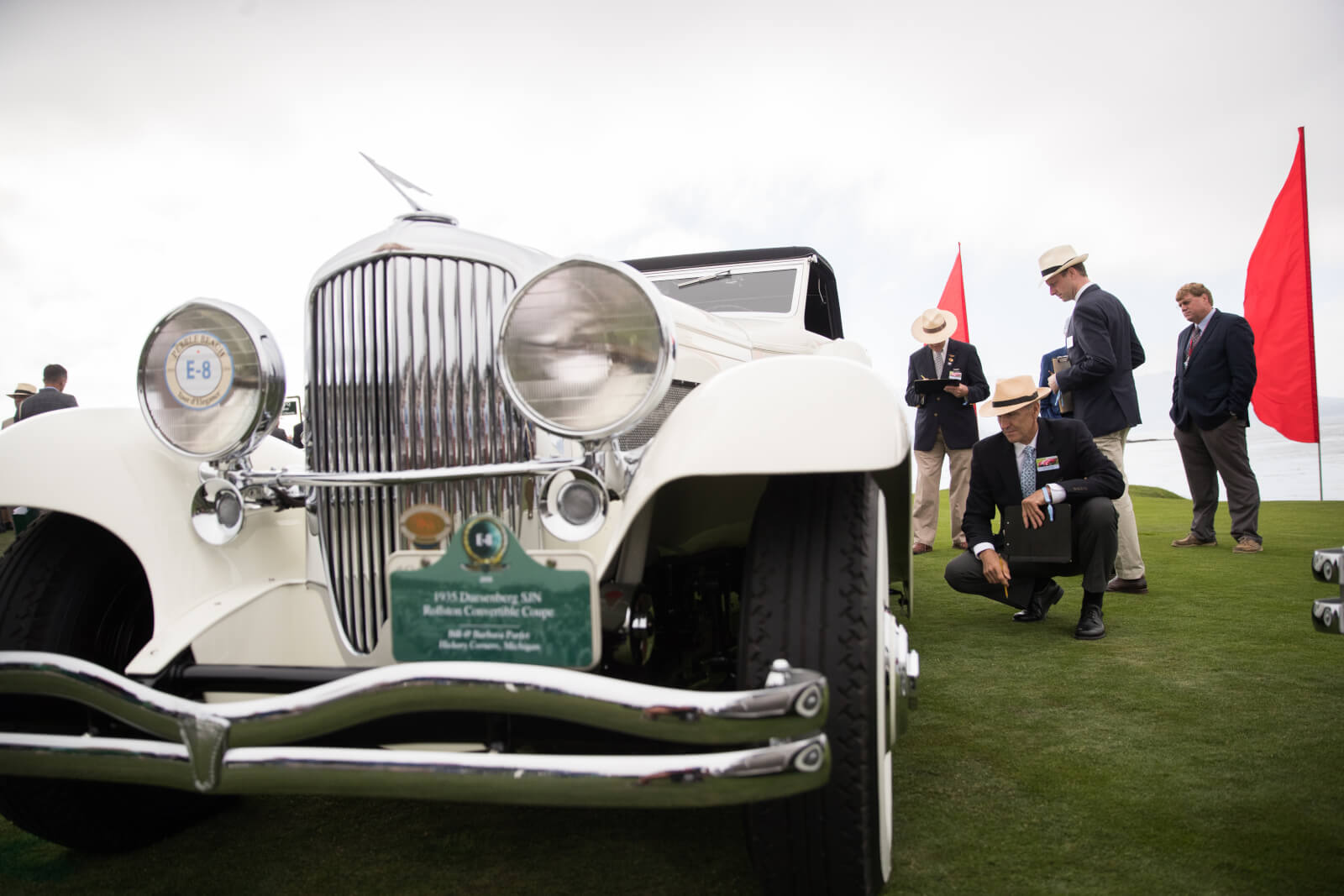 Pebble Beach Concours Judging