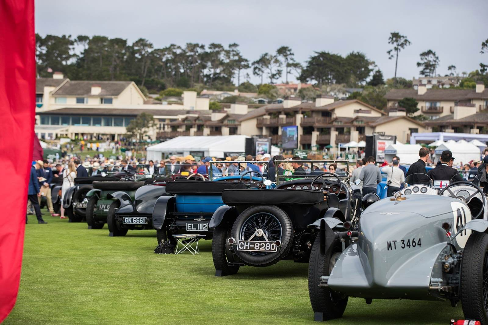The Show Field at Pebble Beach Concours d'Elegance