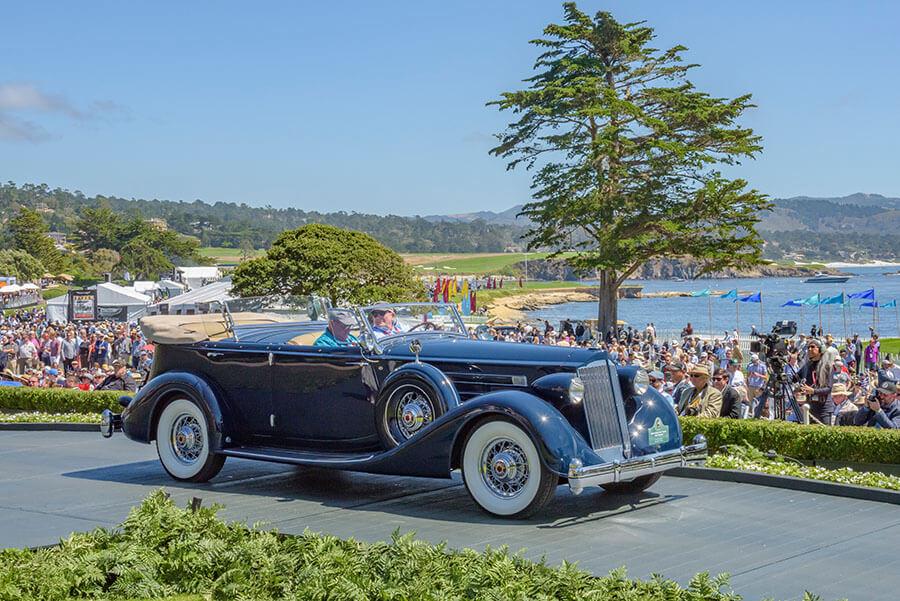 1936 Packard 1407 Twelve Sport Phaeton