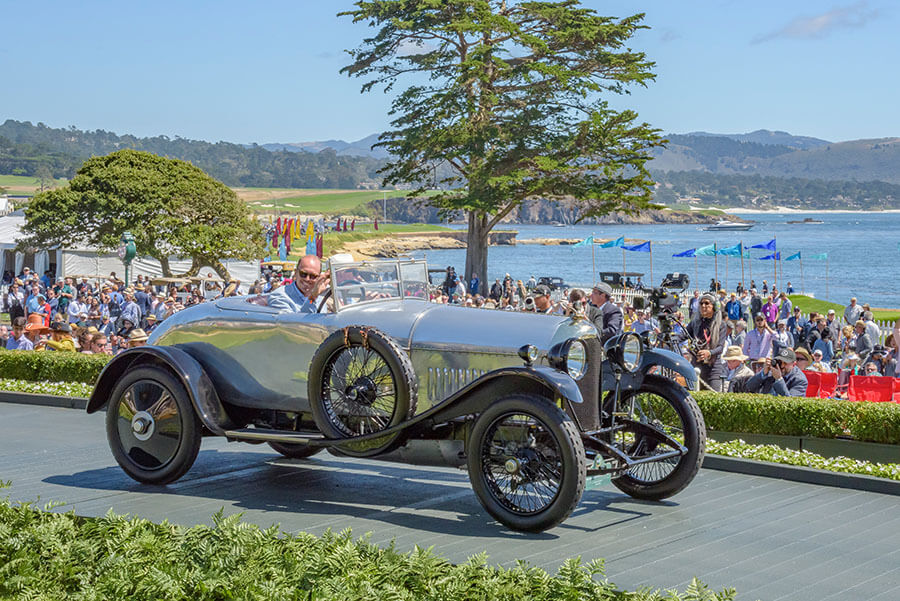 1921 Bentley 3 Litre Harrison Open Two Seater Sports