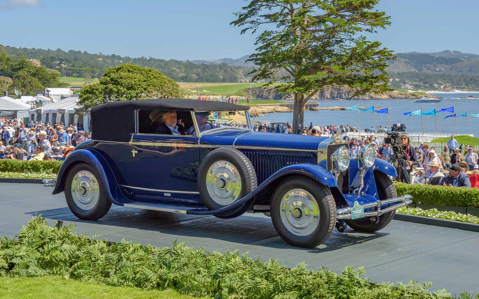 1929 Hispano-Suiza H6C Saoutchik Cabriolet