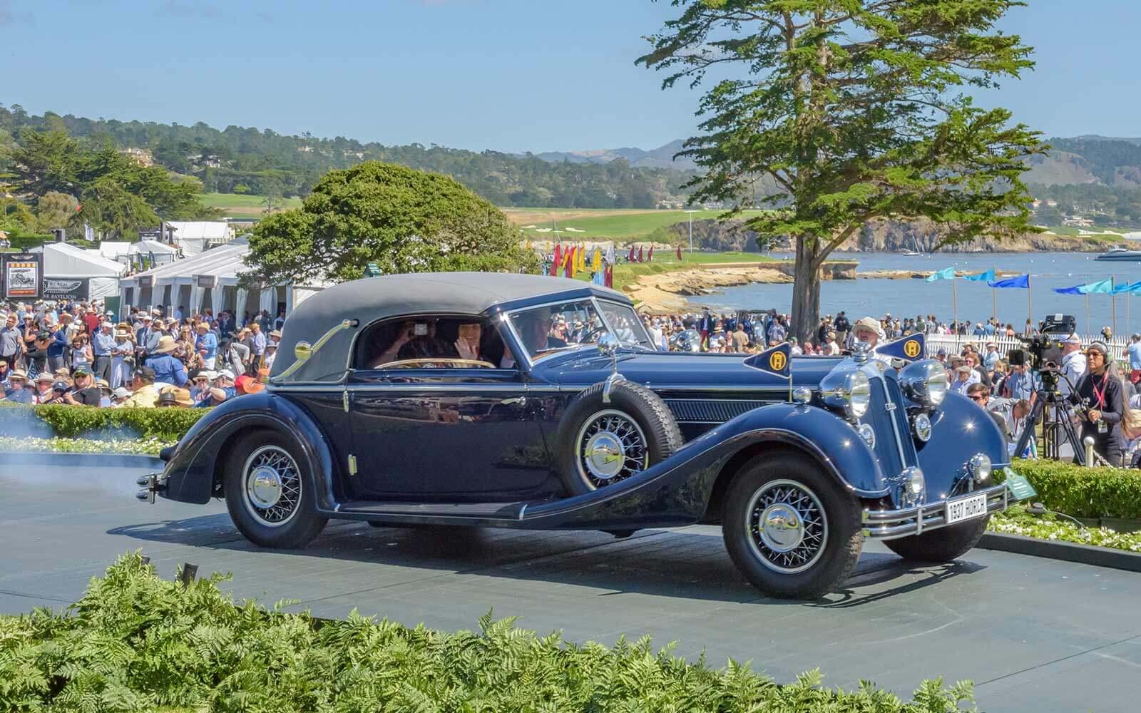 1937 Horch 853 Glӓser Sport Cabriolet