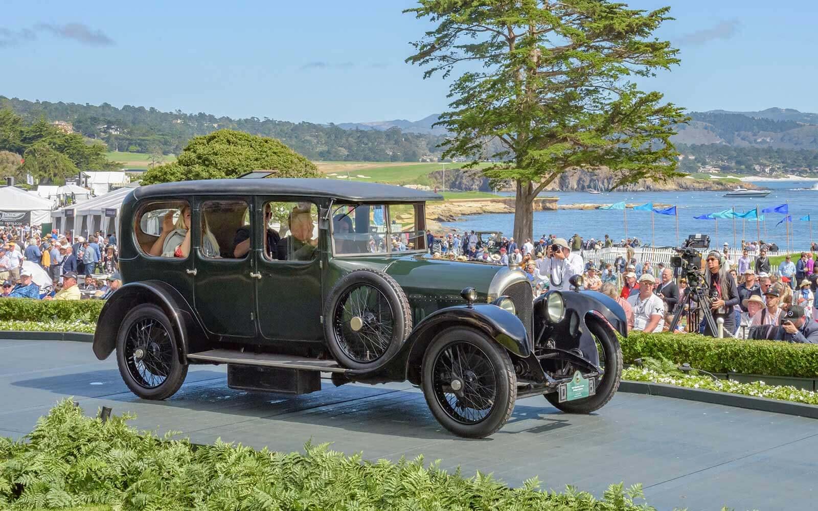1924 Bentley 3 Litre Bridges Saloon