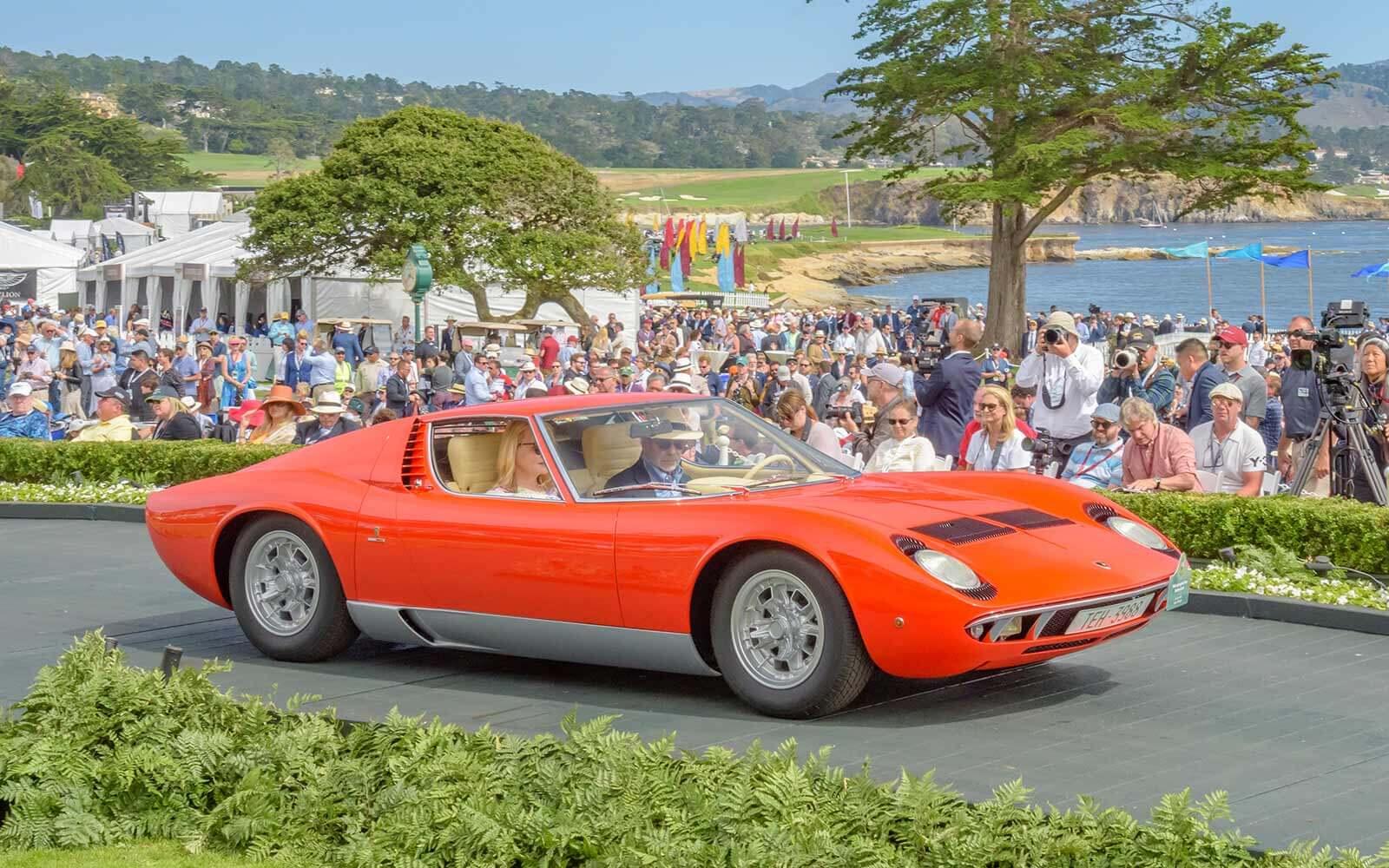 1968 Lamborghini Miura Bertone Coupé