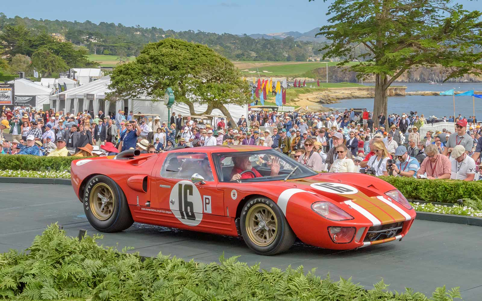 1966 Ford GT40 Lightweight Coupe