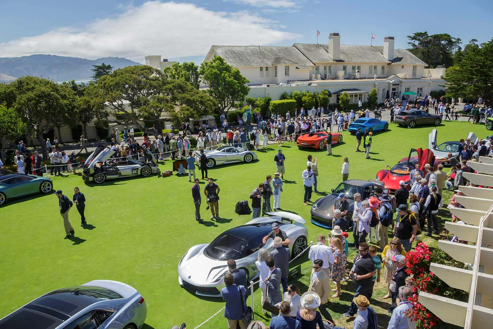 Concept Lawn at the Pebble Beach Concours d'Elegance