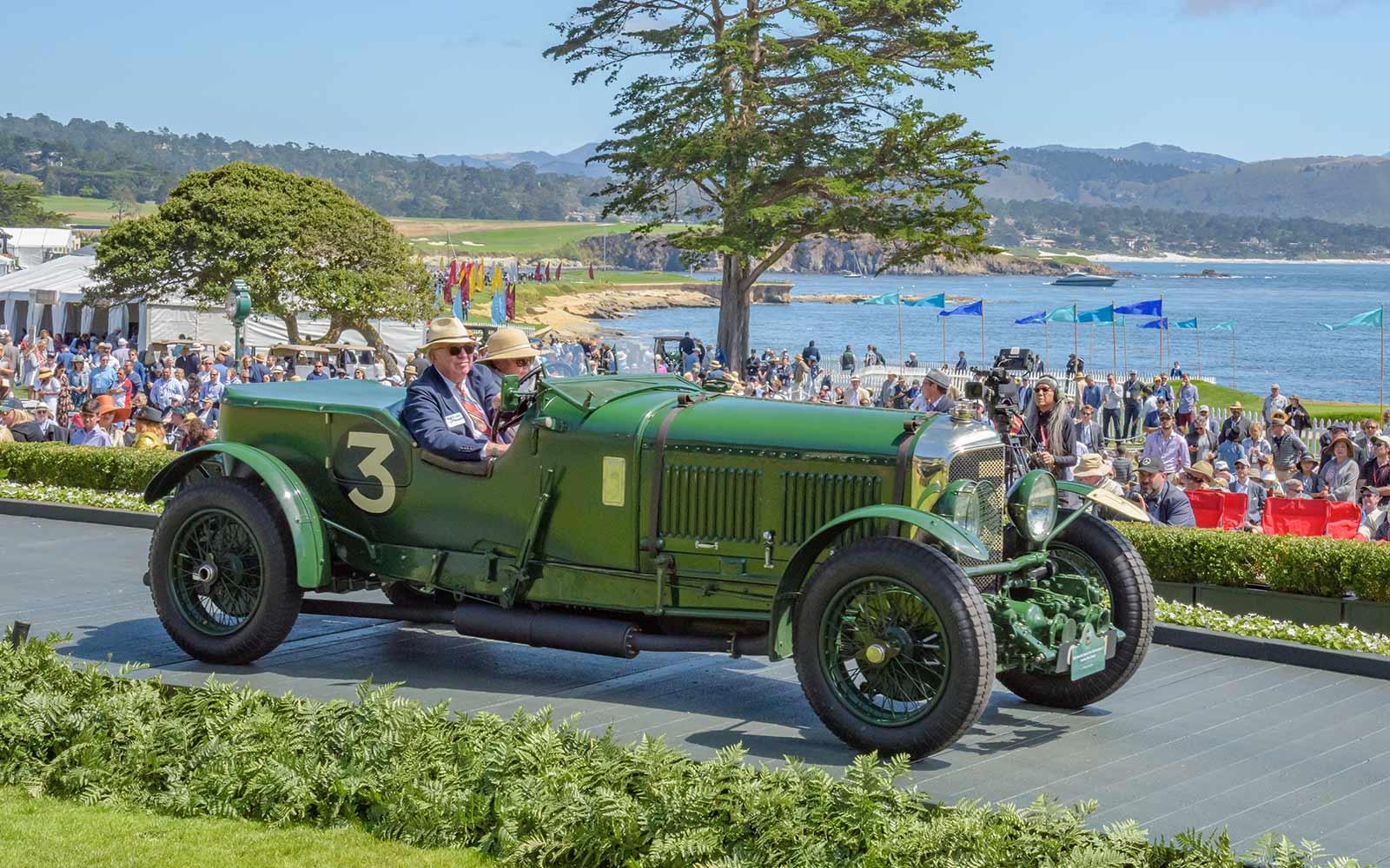 1930 Bentley Speed Six Old Number 3 Vanden Plas Tourer