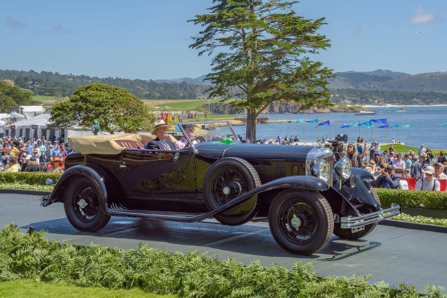 1931 Bentley 8 Litre Murphy Open Four Seater Sports