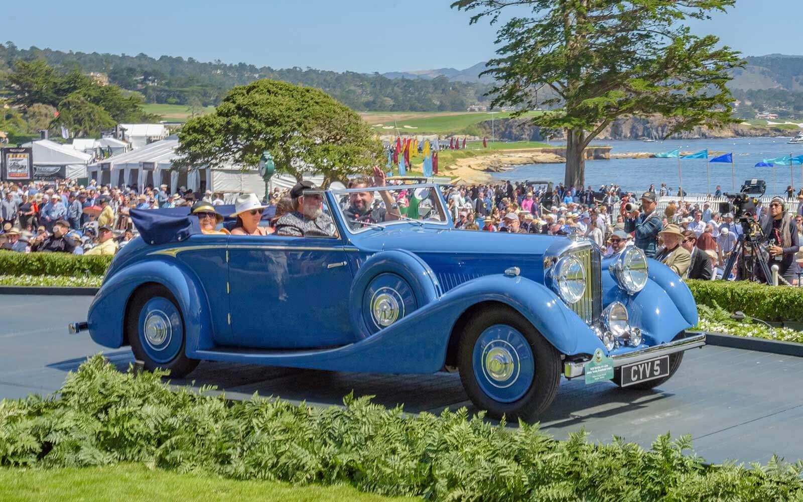 1936 Bentley 4¼ Litre James Young Drophead Coupé