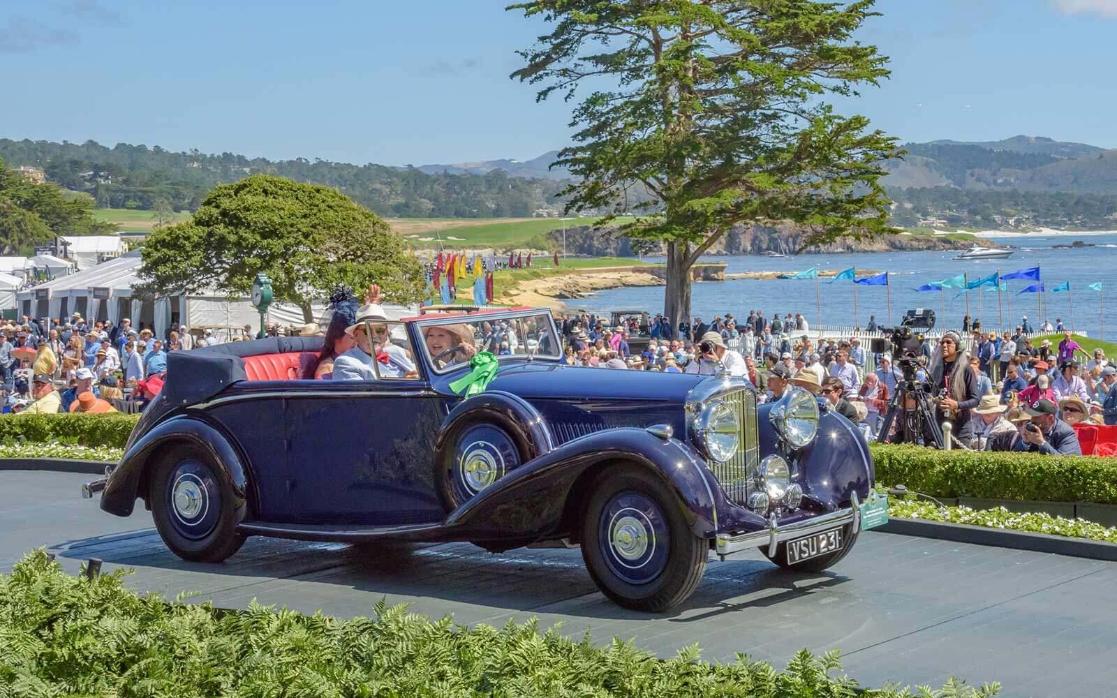 1939 Bentley 4¼ Litre Park Ward Drophead Coupé