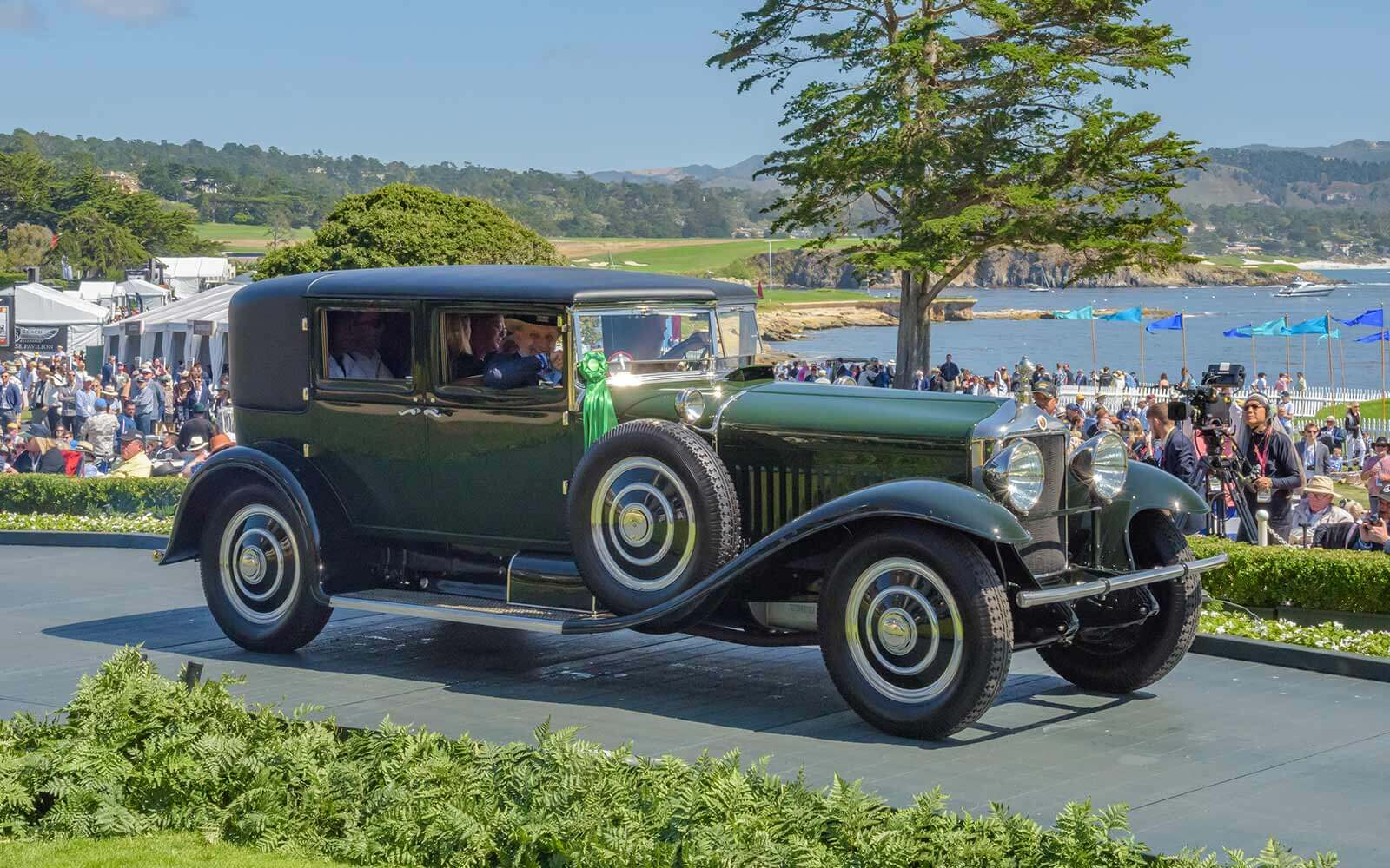 1927 Minerva Type AF LeBaron Sport Sedan