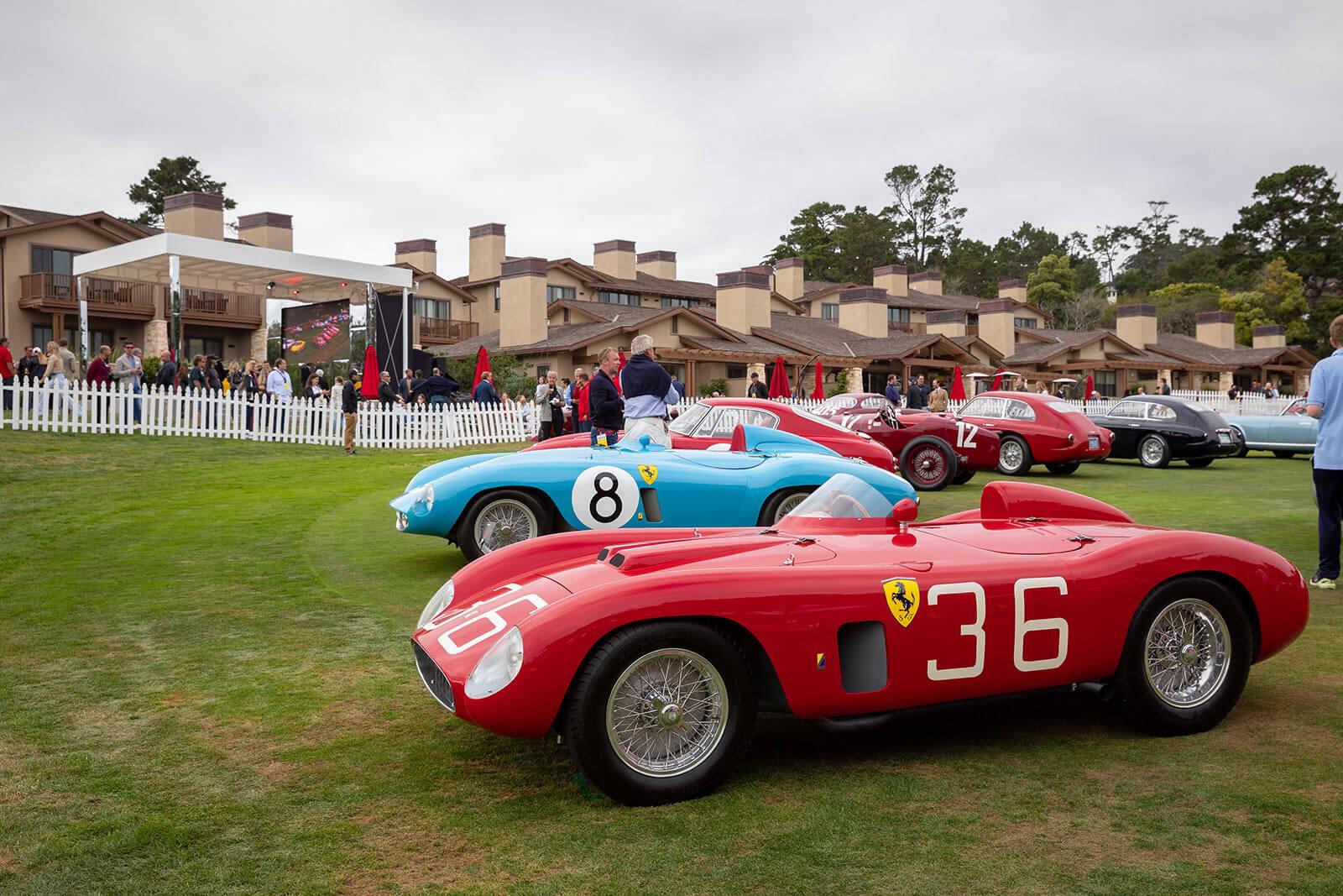 Ferrari Concours at Pebble Beach Concours