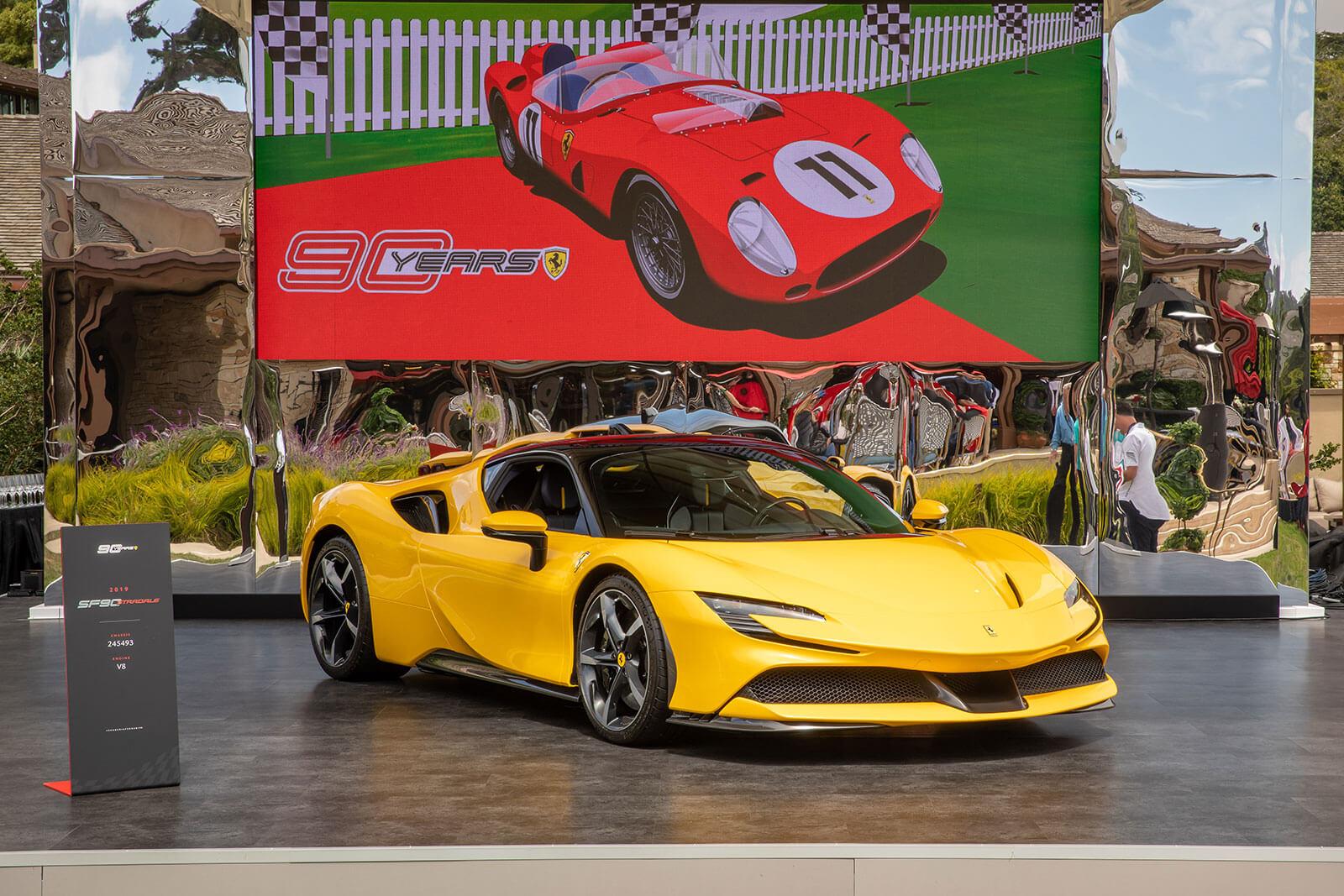 Ferrari at Pebble Beach Concours