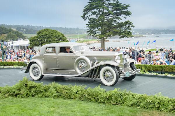"1933 Duesenberg SJ ""Twenty Grand"" Rollston Arlington Torpedo Sedan"
