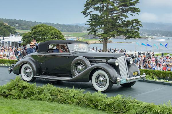1936 Packard 1407 Twelve Coupe Roadster