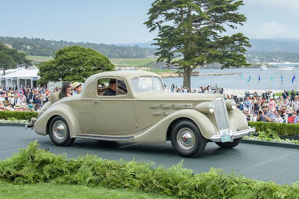 1937 Packard 1507 Twelve Coupe