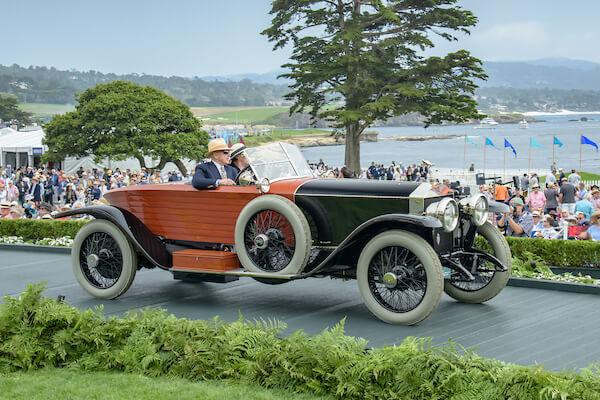 1914 Rolls-Royce Silver Ghost Schapiro-Schebera Skiff