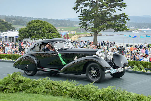 1938 Mercedes-Benz 540K Autobahn Kurier