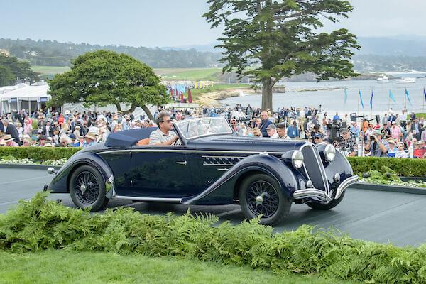 1937 Delahaye 135 M Chapron Cabriolet