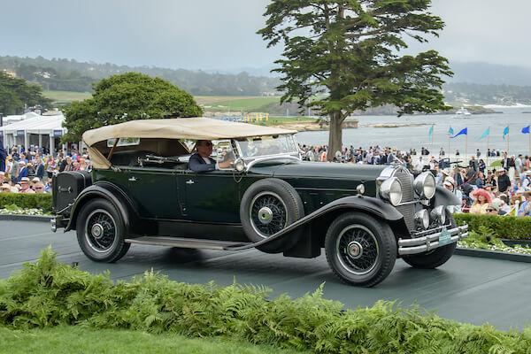 1930 Packard Deluxe Eight 745 Dietrich Dual Cowl Sport Phaeton