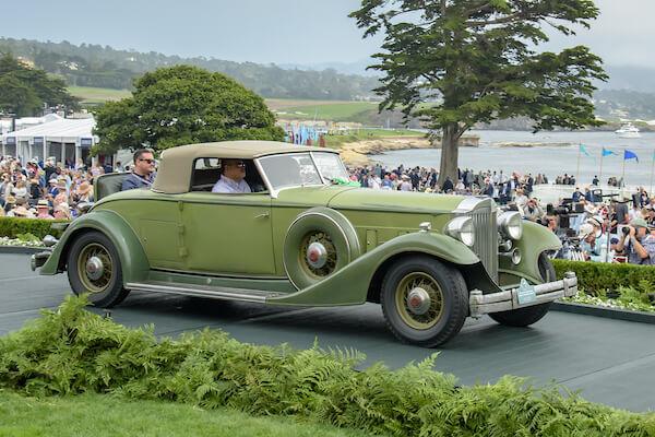 1933 Packard 1006 Twelve Dietrich Convertible Runabout